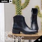 Bota Feminina Quebec Texas Preta