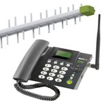 KIT TELEFONE CELULAR RURAL QUAD BAND