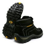 Bota Caterpillar Adventure - Preto