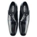 Sapato Derby Masculino Banks Preto