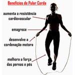 Corda para Exercícios de Pular - PVC