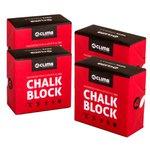 Carbonato De Magnésio Chalk Block 56g 4climb - 4 unidades