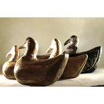 Escultura de Pato em Madeira M