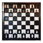 Quadro Grande de Jogo de Xadrez