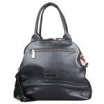 Shoulder Bag Classic em Couro Preta