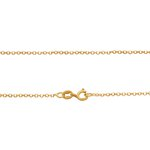 Corrente Portuguesa Diamantada em Ouro 18k