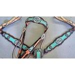 Conjunto Cabecada e Peiteira - Master Saddles 31