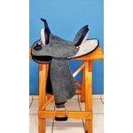 Sela em Neoprene Master Saddles Rancheira - Preta com Strass
