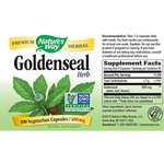 Goldenseal - Herb - Nature`s Way - 400 mg - 180 Capsules