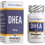 DHEA Sublingual Superior Source 50 mg - 100 Tabs