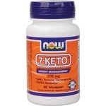 7-KETO - DHEA Metabolite - Now Foods - 100 mg - 60 Vcaps