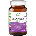 Multivitamínico One 'n' Only ™ Women - Um por dia - Pure Essence Labs - 30 tabletes