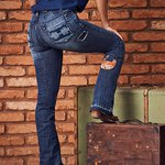 CALCA TRES SEIS CUTTER JEANS STONE