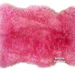 Pelego Natural Penteado 100 x 70cm (Rosa)