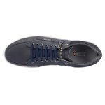 Sapato Casual Masculino com zíper Lateral Marinho