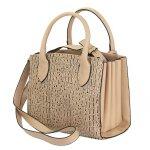 Bolsa + Carteira Selten Handbag Sanfonada Feminina Mocassim