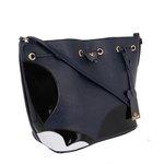 Bolsa Mickey Saco Lateral Selten Azul Escura