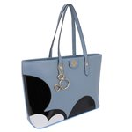 Bolsa + Carteira Mickey G Azul Calro