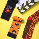 Meia SOCKS ON THE BEAT Space Odissey