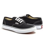 TENIS VANS AUTHENTIC PRETO C/ BRANCO