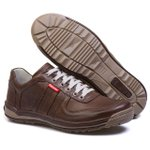 Sapatênis Casual Conforto Masculino Top Franca Shoes Cafe