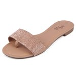 Rasteirinha Trivalle Shoes Clear Nude