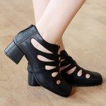 Sapato Retro Preto