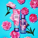 KIT CREME HIDRATANTE + BODY SPLASH VICTORIA'S SECRET PEONY CUSH IMPORTADO ORIGINAL