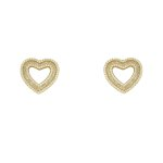 Conjunto Zircônia Lesprit U17K110071 Dourado Cristal