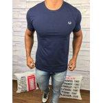 Camiseta Fred Perry - Azul Marinho Logo branco