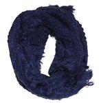 Cachecol Gola Detalhes Azul