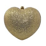 Bolsa Clutch Lanver Dourada
