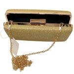 Bolsa Clutch Dallas Dourada