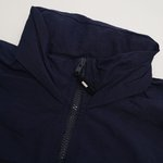 WINDBREAKER HIGH STRAP OUTLINE NAVY WHITE
