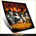 Camiseta Kiss End of the Road