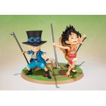 ONE PIECE – LUFFY, ACE & SABO – A PROMISE OF BROTHERS – FIGUARTSZERO – BANDAI