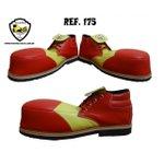 Sapato de Palhaço Vermelho/Amarelo Ref 175