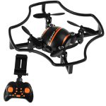 Mini Drone Ml18w Com Sistema Fpv Ao Vivo E Altitude Holder Laranja