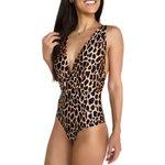 Leopard Print - Body/ Maiô