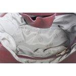 Mochila Artesanal Vermelha 100% Em Couro J.Gean
