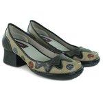 Sapato Em Couro Kelly Silver J.Gean