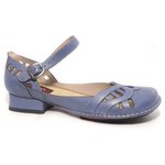 Sapato Em Couro Loretta Azurita j.Gean