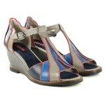 Sandália Em Couro Susan Anabela Eiffel J.Gean