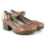 Sapato em Couro Marjorie Cortiça J.Gean