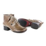 Bota Em Couro New Kelly Cappuccino J.Gean