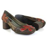 Sapato em Couro Galeany Alto Chocolate J.Gean