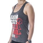 Regata Feminina Rock Fit Warm Chumbo