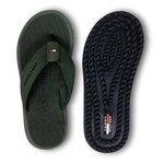 Chinelo Tommy Hilfiger Verde Escuro