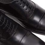 Sapato Social Masculino Preto Couro Legítimo Monbran Dressy Eros 05-19057-P