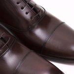 Sapato Masculino Oxford Marrom Couro Legítimo Monbran Dressy Torres 0519031C
